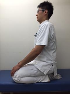 前脛骨筋のストレッチ1